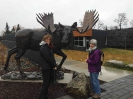 Ruth and Anita - In Search of the Elusive Moose