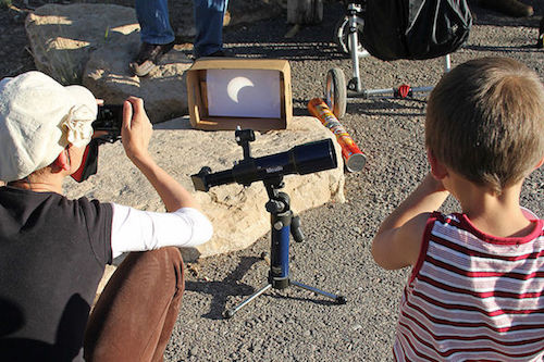 Annular Eclipse Viewing Grand Canyon